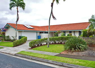 Rarely available home in Kaopa area of Kailua.