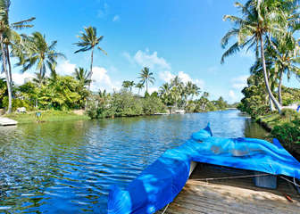 Kailua, Enchanted Lake – Canalfront Oasis!