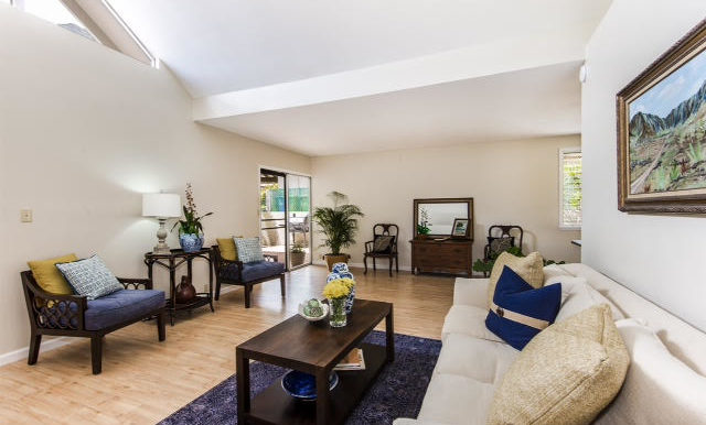 Theresa living room