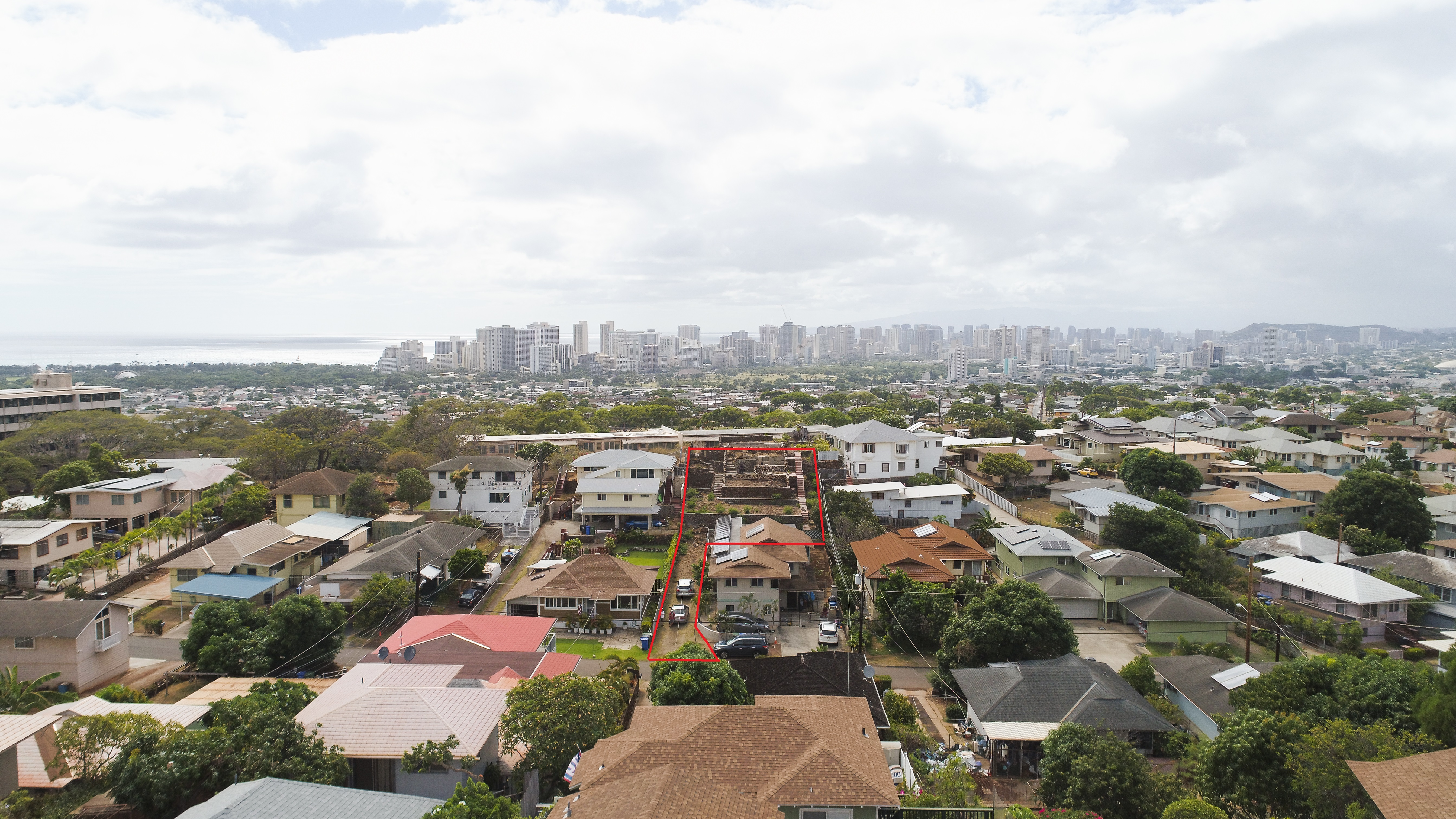 Awesome View Lot in Convenient Kaimuki!
